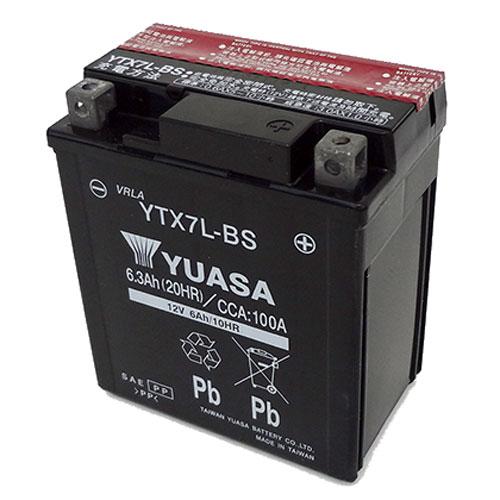 台湾ユアサ 台湾ユアサバッテリー YTX7L-BS