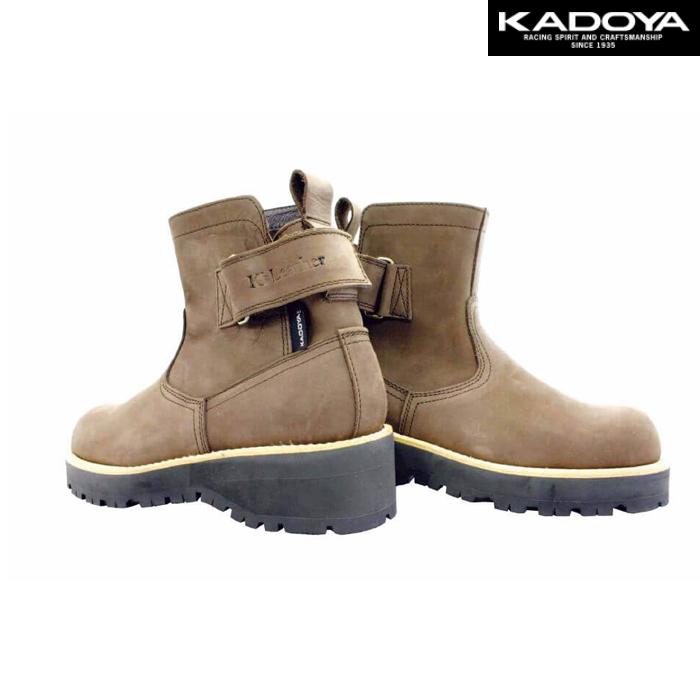 KADOYA 4317 EG BROWN-A ショートブーツ