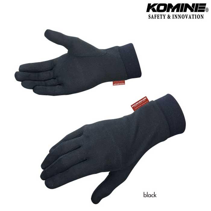 komine 〔WEB価格〕GK-133 コンフォートシルクインナーグローブ べたつき防止