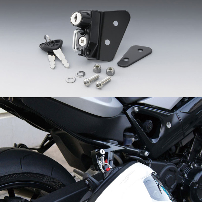KIJIMA 〔WEB価格〕 ヘルメットロック F800S/ST(06-12)/R(09-14)