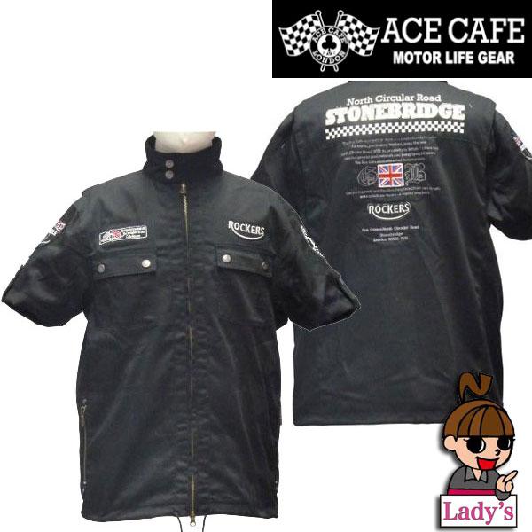 ACE CAFE LONDON 【WEB限定】【レディース】RC TCハーフスリーブジャケット