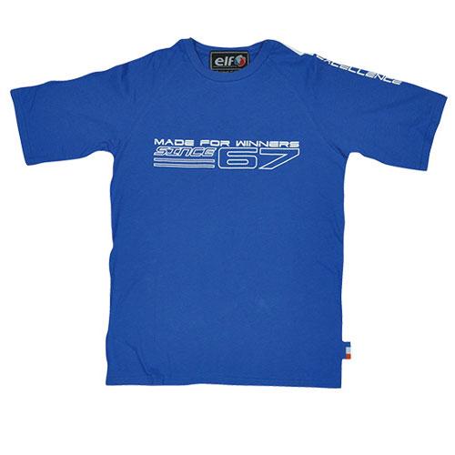 elf ET-122 コットンTシャツ ブルー◆全4色◆