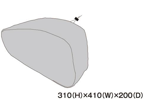 TANAX 右レインカバー MFK-186用
