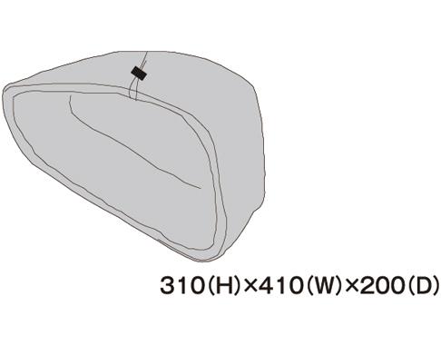 TANAX 左レインカバー MFK-186用