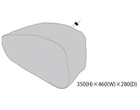 TANAX 〔WEB価格〕右レインカバー MFK-187用
