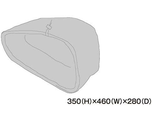 TANAX 左レインカバー MFK-187用