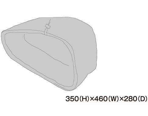 TANAX 〔WEB価格〕左レインカバー MFK-187用