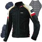 JK-047 スリムフィットライディングメッシュジャケット