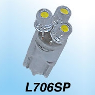 M&Hマツシマ LEDバルブ L・ビーム 拡散タイプ 12Vウエッジ 0.6w