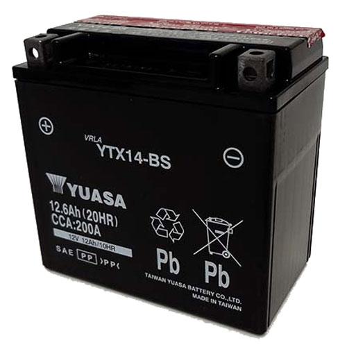 台湾ユアサ 台湾ユアサバッテリー YTX14-BS