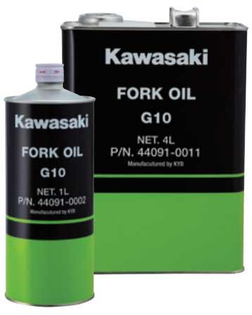 KAWASAKI 〔WEB価格〕J44091-0011 フォークオイル 正立フォーク用 G10  4L