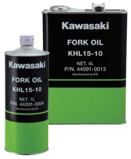 KAWASAKI フォークオイル 倒立フォーク/カートリッジフォーク用  4L