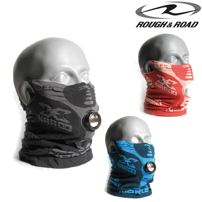 ROUGH&ROAD 〔WEB価格〕NM-F5 NAROO MASK F5 フェイスマスク UVカット 防塵