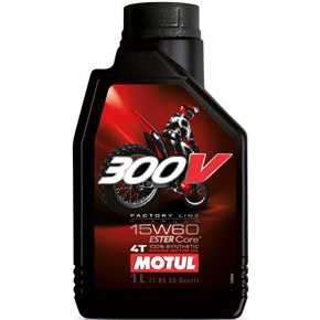 MOTUL 〔WEB価格〕11104611 300V Factory Line Off-Road  15W60 MA 1L
