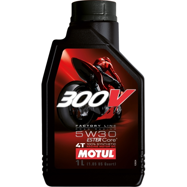 MOTUL 〔WEB価格〕300V Factory Line Road-Racing  1L