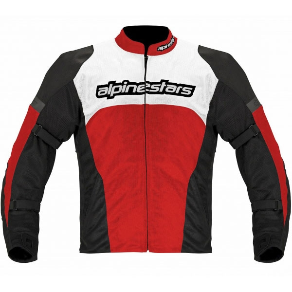 alpinestars 【WEB限定】3304513 FENDING AIR JACKET(スリムフィット) BLACK RED WHITE・Mサイズ