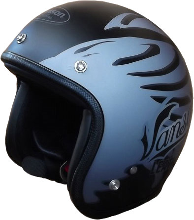 VANSON 【WEB限定】JH-BONE2 ヘルメット