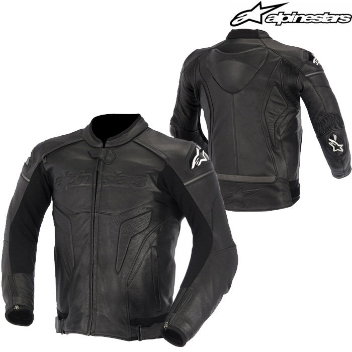 alpinestars 〔WEB価格〕BLACK SHADOW PHANTOM LEATHER JACKET