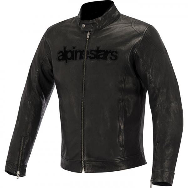 BLACK SHADOW HUNTSMAN LEATHER JACKET