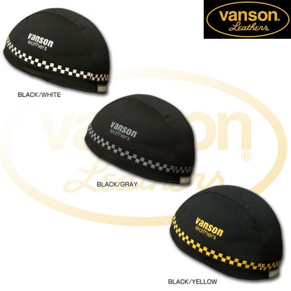 VANSON 〔WEB価格〕VS13607N ヘルメットインナーキャップ