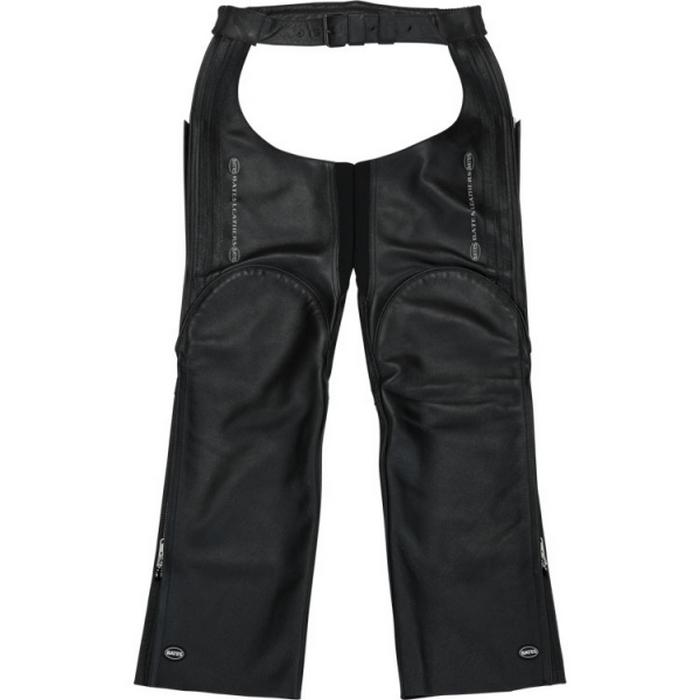BATES BAP-CP20レザーチャップス BLACK/BLACK◆全3色◆