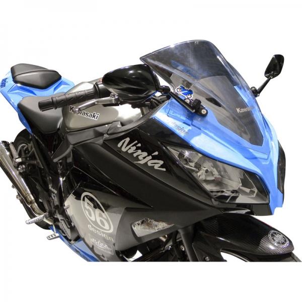 N-PROJECT 56RACING レーシングスタイルミラーセット for Ninja250