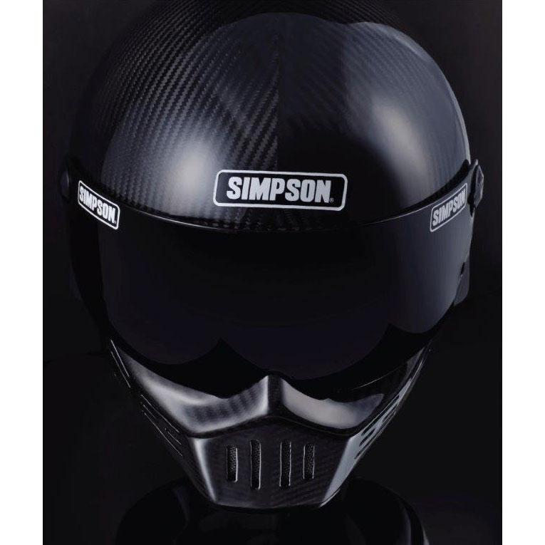SIMPSON 〔WEB価格〕MODEL30 『M30』 カーボン フルフェイス ヘルメット