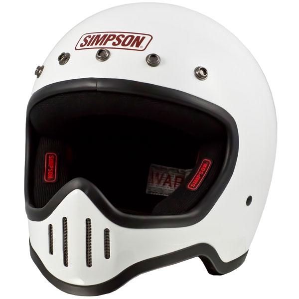 SIMPSON 【お取り寄せ】 M50 フルフェイスヘルメット ホワイト