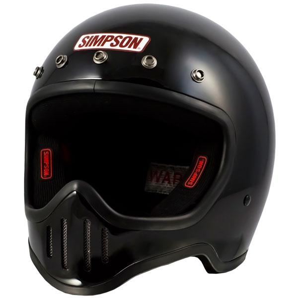 SIMPSON 【お取り寄せ】 M50 フルフェイスヘルメット ブラック