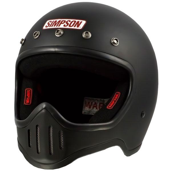 SIMPSON 【お取り寄せ】 M50 フルフェイスヘルメット マットブラック