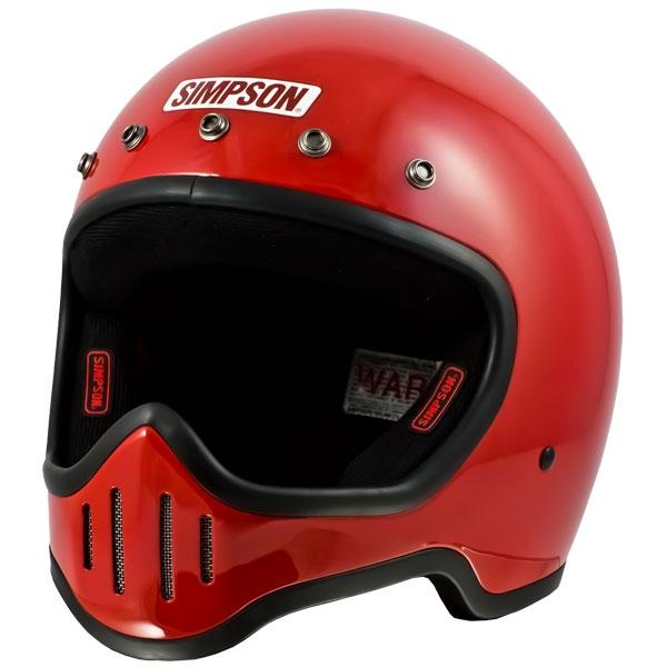SIMPSON 【お取り寄せ】M50 フルフェイスヘルメット レッド