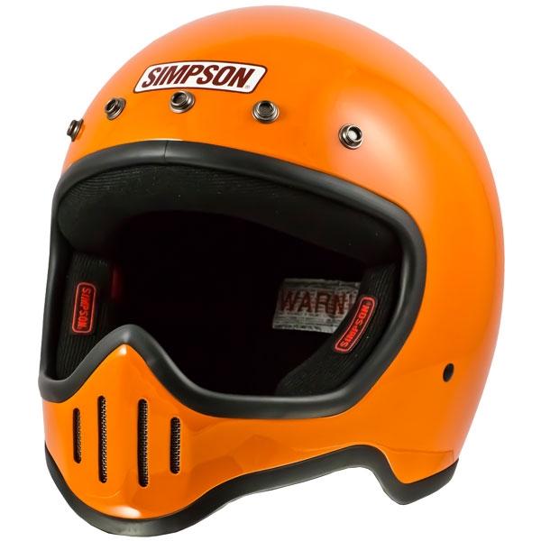 SIMPSON 【お取り寄せ】M50 フルフェイスヘルメット オレンジ