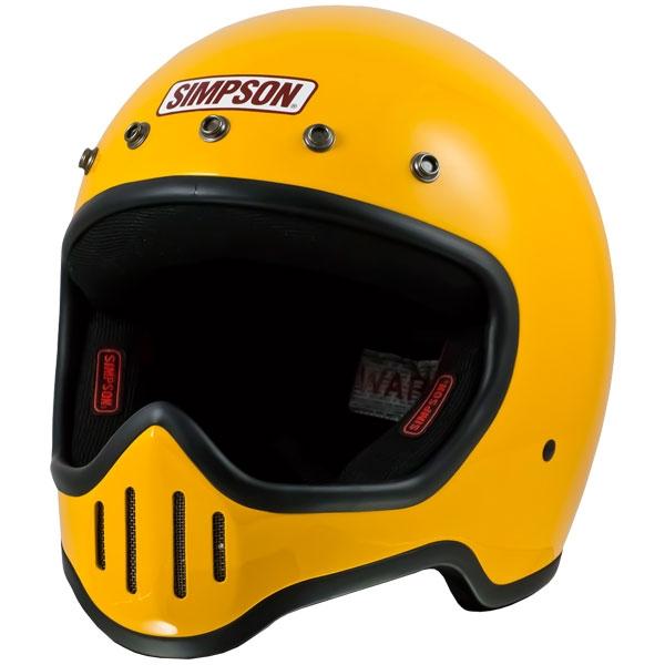 SIMPSON 【お取り寄せ】 M50 フルフェイスヘルメット イエロー
