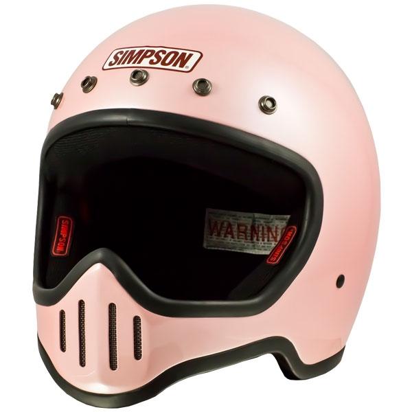 SIMPSON 【お取り寄せ】 M50 フルフェイスヘルメット パールピンク