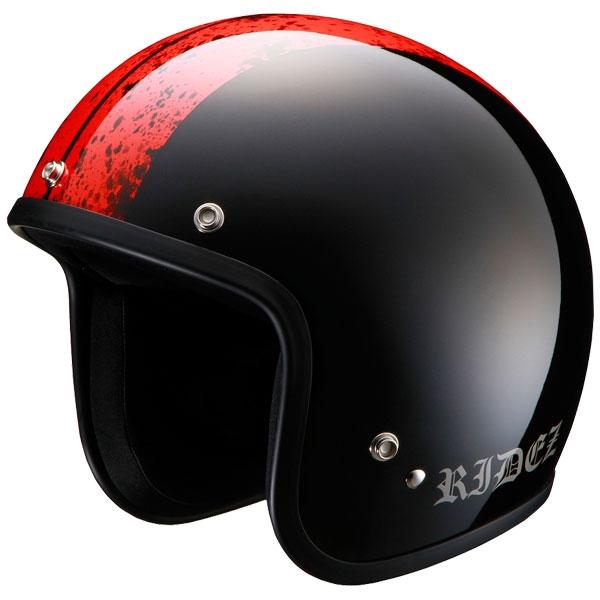 RIDEZ LX ジェットヘルメット[ビッグサイズ]