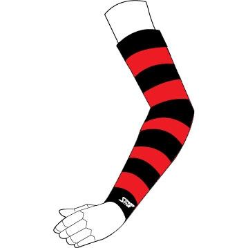 Stream Trail 【春夏ウェアアウトレット】個別配送のみ UV ARM SLEEVE カラーリング Red-Black