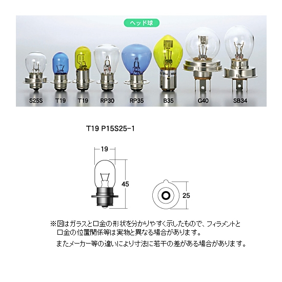 M&Hマツシマ ヘッドライト用白熱電球 12V15W