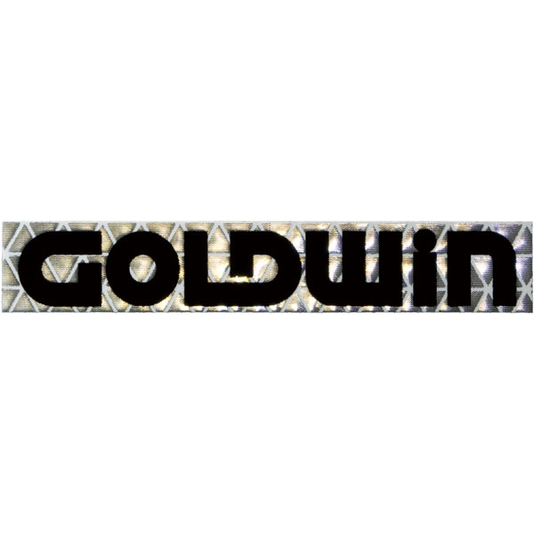 GOLDWIN 反射ロゴステッカー