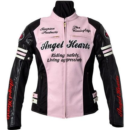 Angel Hearts フェイクレザージャケット