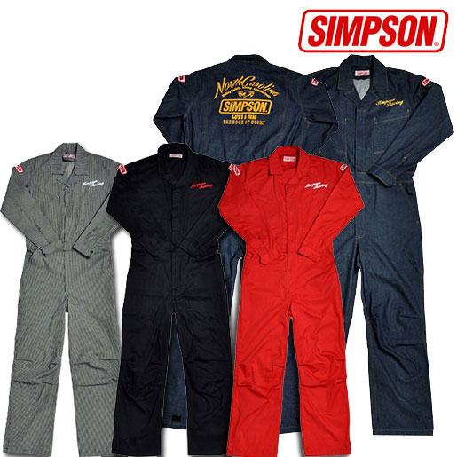 SIMPSON 【4/26(金)10:00販売開始】SMS-201メカニックスーツ つなぎ作業服