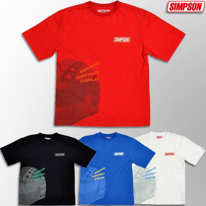 SIMPSON 【WEB限定】ST-116 Tシャツ ホワイト Mサイズ