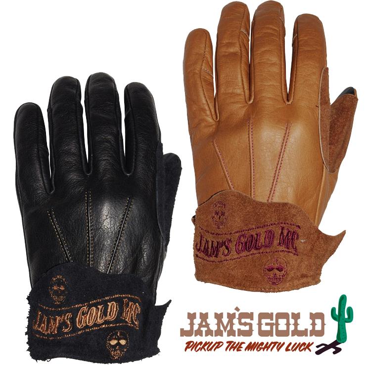 ORION ACE 【WEB限定】JAMS GOLD レザーグローブ 『JOSE KINGDOM』