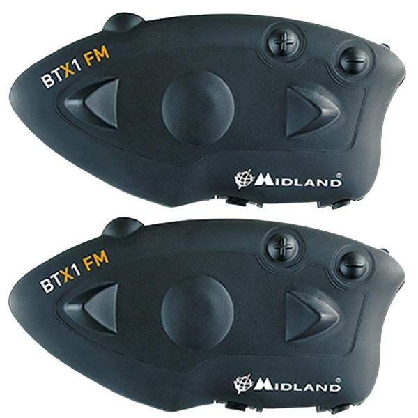 MIDLAND 【WEB会員限定】C1142.11 ブルートゥースインカム BT X1 FM ツインパック