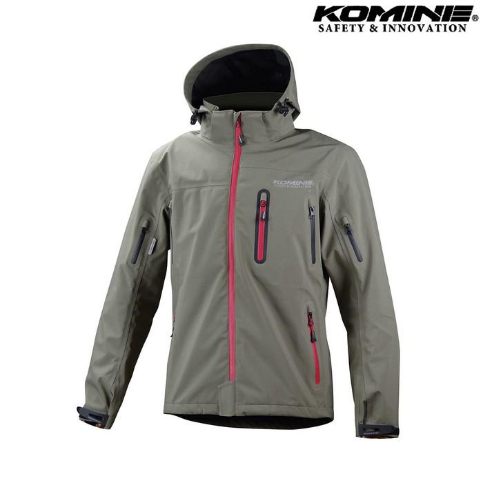 komine JK-555 WP プロテクション3L パーカ オリーブ ◆全4色◆