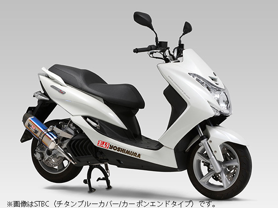 YOSHIMURA JAPAN 【Web会員限定】R-77S サイクロンカーボンエンド EXPORTSPEC(SMC)MAJESTY S '14 JBK-SG28J