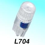 M&Hマツシマ LEDバルブLビーム 12V0.25W L704