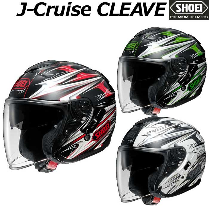 SHOEI ヘルメット J-CRUISE CLEAVE[クリ―ブ] ジェットヘルメット