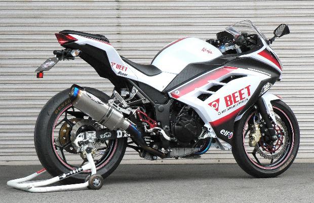 BEET JAPAN NASSERT Evolution Type2フルエキゾースト Ninja250他