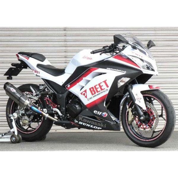 BEET JAPAN NASSERT Evolution Type2スリップオン  Ninja250・Z250