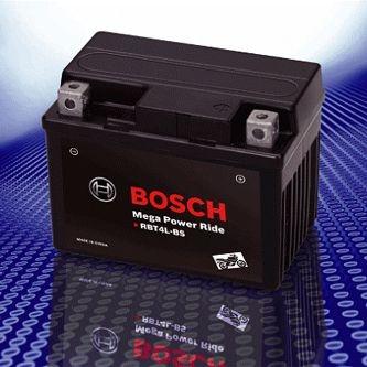 BOSCH 二輪車用バッテリー  メガパワーライド RBT7B-4-N